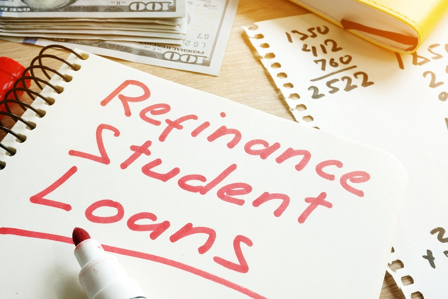 refinancing student loans and student loan debt student loan planner