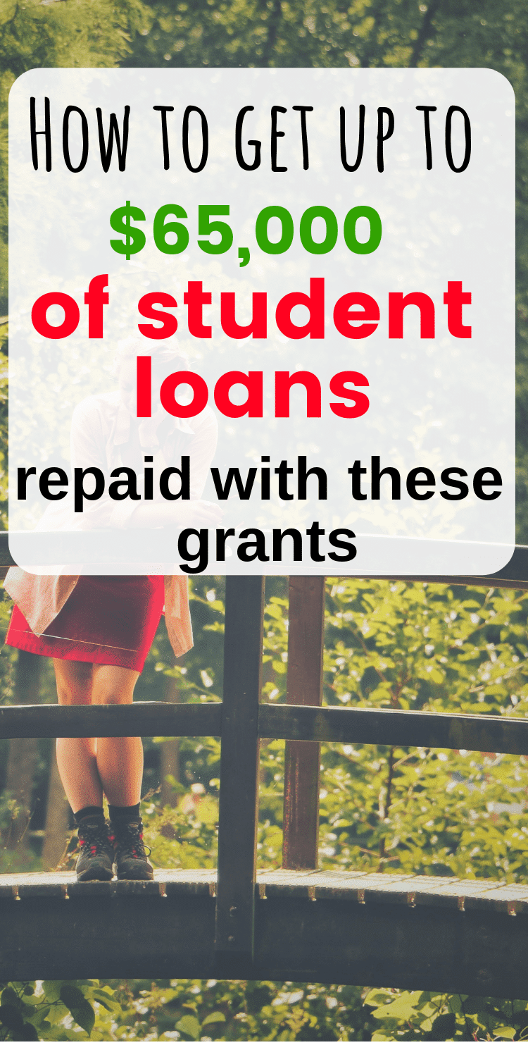 grants and scholarships to pay off student loans