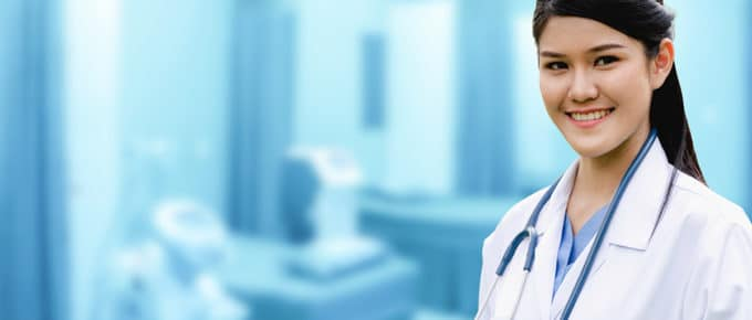 young-woman-doctor-smiling