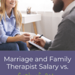 Marriage and Family Therapist Salary vs. Cost of an LMFT Degree