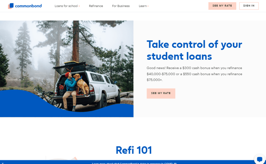 CommonBond Bonus Loan Program By Student Loan Planner