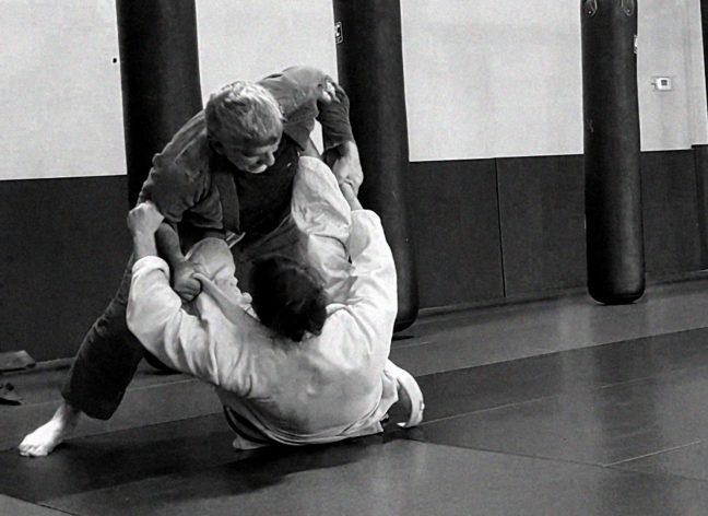 Spider Guard in Brazilian Jiu-Jitsu