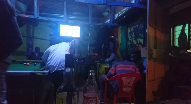 Clubbing in Kitale's cheapest pub