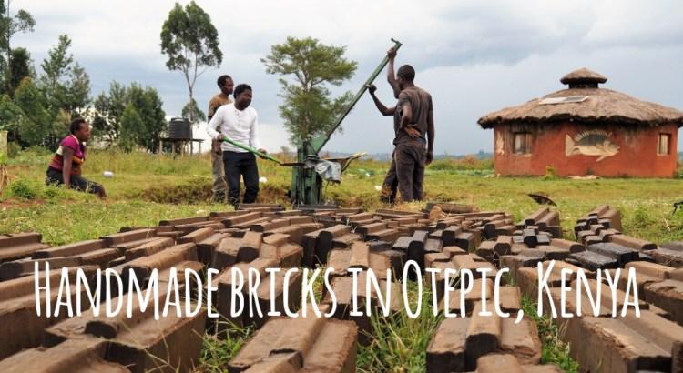 Handmade bricks in Otepic