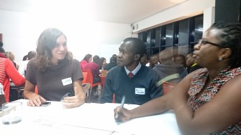 Exchanging ideas for the Impact Hub Nairobi