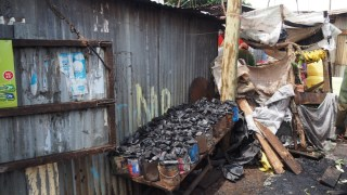 Coal shop in Southlands slum.