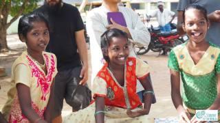 Nadukuppam kids during their pottery art class