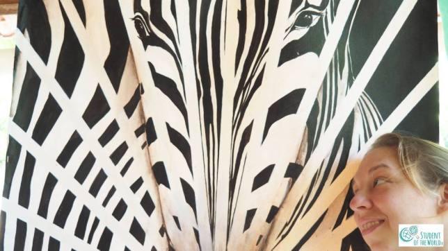 Paralyzing Zebra - distortion or reality?