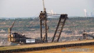 Excavator and power plants