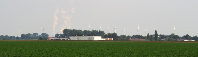 Coal plants and wind energy