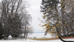 Lake Starnberg in winter robe