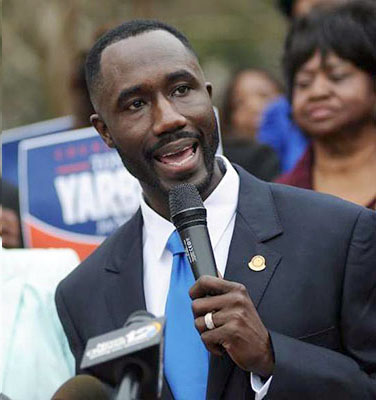 About two months after the death of Jackson Mayor Chokwe Lumumba, 36-year-old Jackson City Councilman Tony Yarber has been elected the city's new mayor in a special election April 22. Yarber garnered 53.8 percent of the votes, edging his way past Chokwe Antar Lumumba, both Yarber's opponent and the late mayor's son. The newly elected mayor, who has served as an educator, pastor and councilman, is also an alumnus of The University of Southern Mississippi. Written by Alan Rawls (Managing Editor) Courtesy Photo