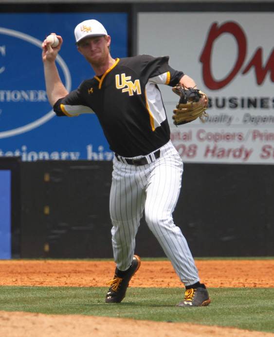 Senior infielder for the Golden Eagles Michael Gilbert suffered from a head injury during team conditioning on Thursday morning.