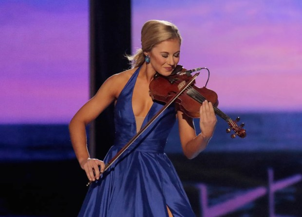 ATLANTIC CITY, NJ - SEPTEMBER 13:  Miss Mississippi, Hannah Roberts attends the 2016 Miss America Competition at Boardwalk Hall Arena on September 13, 2015 in Atlantic City, New Jersey.  (Photo by Donald Kravitz/Getty Images for dcp)