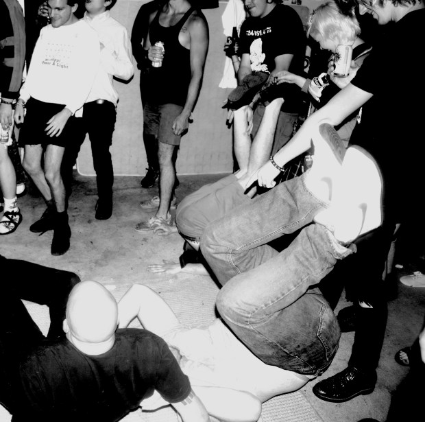 Punkers moving to La URSS set at the Porn Hall April 13.