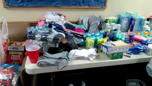 On Jan. 21 Hillcrest dorm held a food and clothes drive for victims of the tornado.