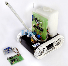 Obstacle Detection Robot with Ultrasonic Sensors