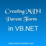 Creating MDI Parent Form in VB.NET