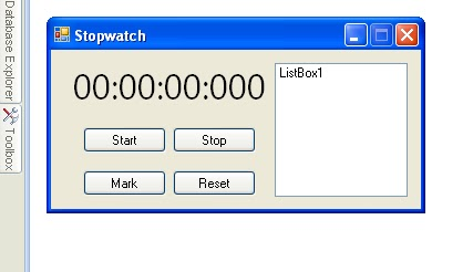 vb.net stopwatch