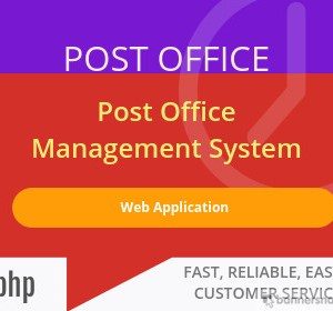 Post Office Web Application project