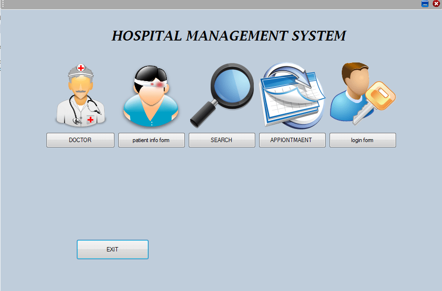Hospital Management System Project Report Student