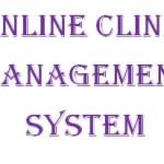 Online Clinic Management System