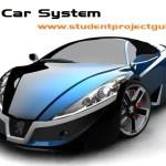 Rent Car System