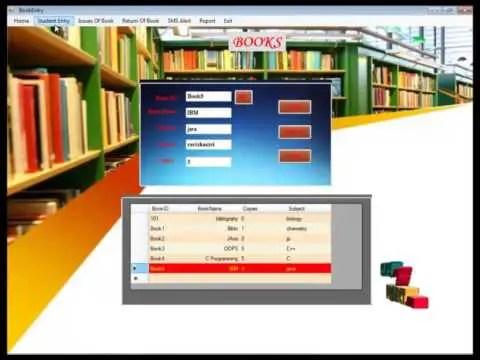 Books Management System