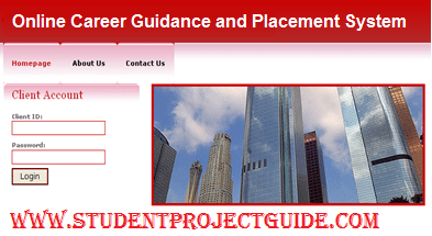 Career Guidance and Placement System