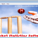 Cricket Statistics Software