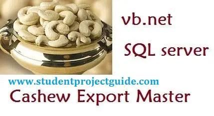 Cashew Export Master