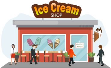 Ice-Cream Shop Management System