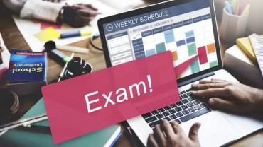 Online Examination Table Design