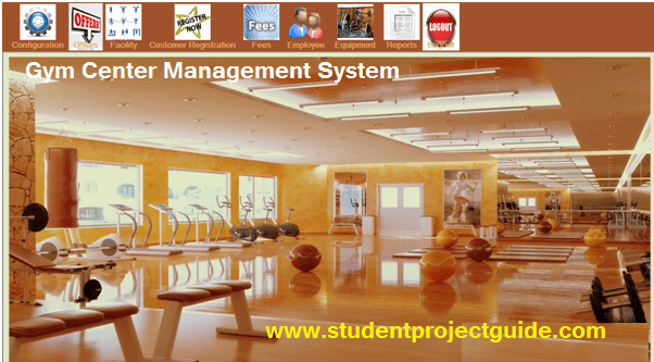 Gym center Management System