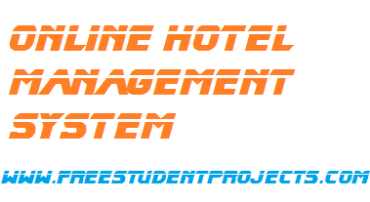 Onlline hotel management system