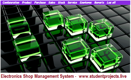 Electronic Shop Management System project in VB.NET