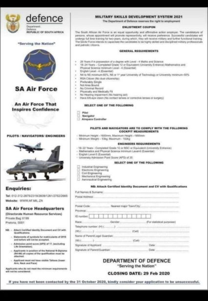 FB_IMG_1579286603235-708x1024 Sa Army Application Forms on for bangladesh, ice sheet, south african, for acceptance, migration process, rotc printable, samples medical,