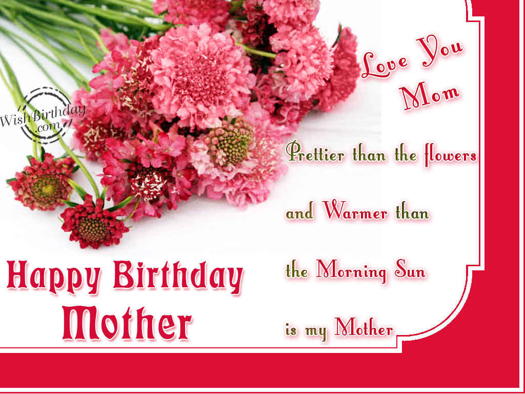 Most touching birthday wishes for mom StudentsChillOut – Happy Birthday Greetings for Mom