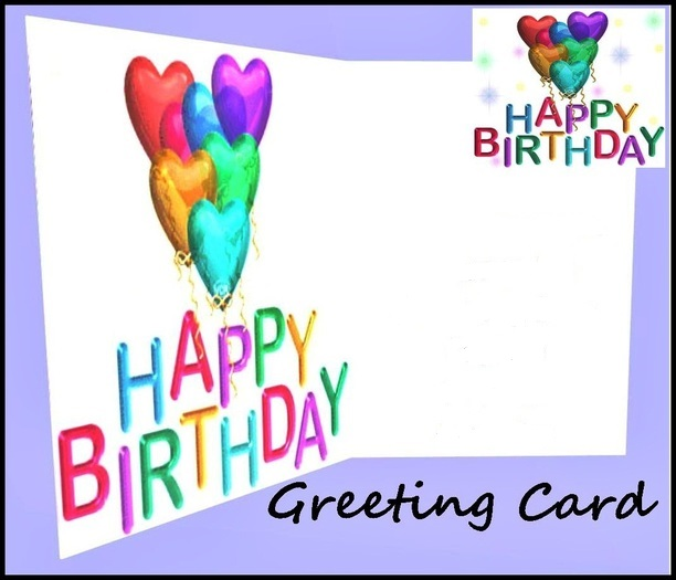 greeting happy birthday cards