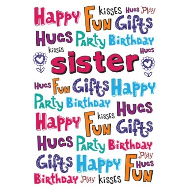 happy birthday wishes to sister