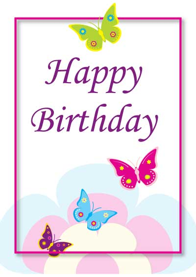 design for birthday cards