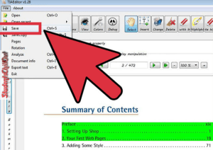 edit pdf documents