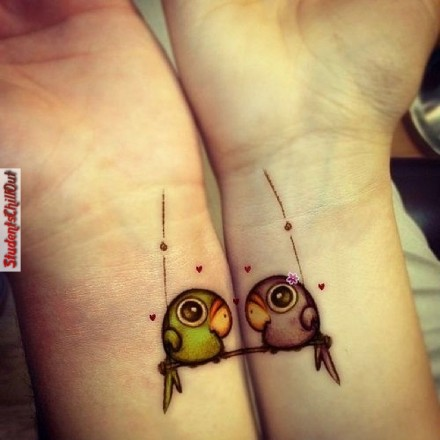 best friend tattoos designs