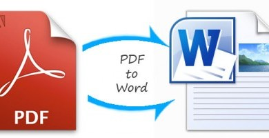 how to convert a pdf into a word document
