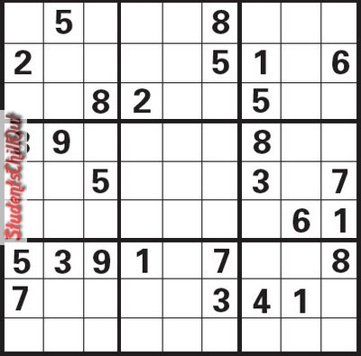 It is a graphic of Printable Sudoku Hard with regard to free printable