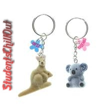 best friends forever keychain