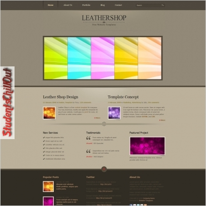 free download html website templates