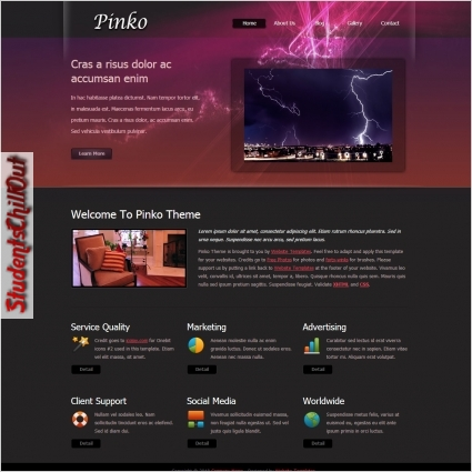 free website html templates download