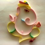 quilling ganesh images