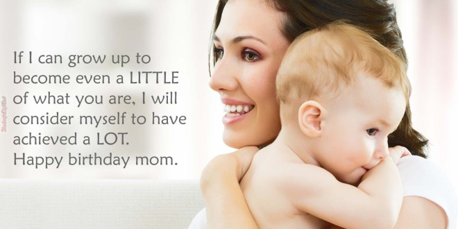 happy birthday quotes for mom